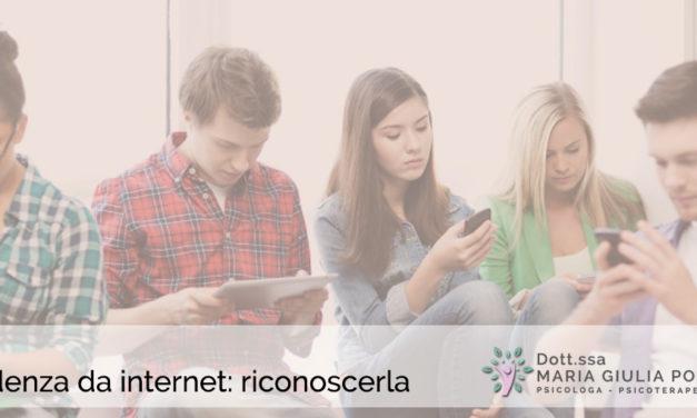 Come valutare la dipendenza da internet in adolescenza