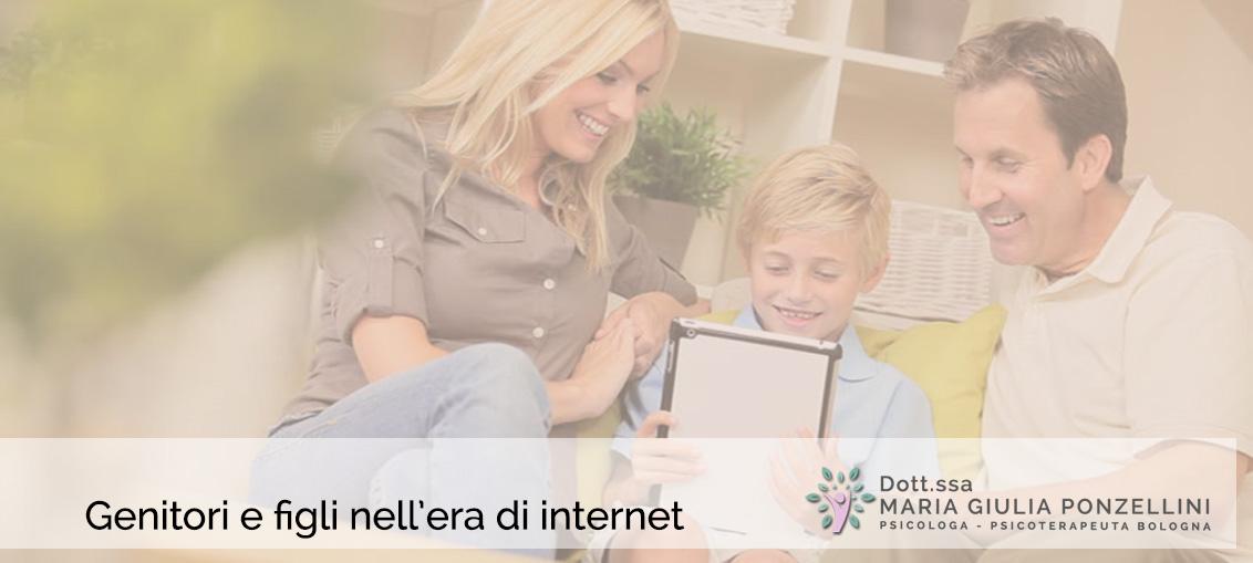 Genitori e figli nell'era di internet
